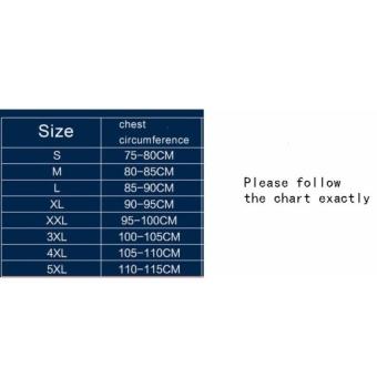 FRD Chest Binder Flat Slim Vest Tomboy Cosplay 5Xl Les Breast Corsetcotton Long Camisoles - intl FRD - 3