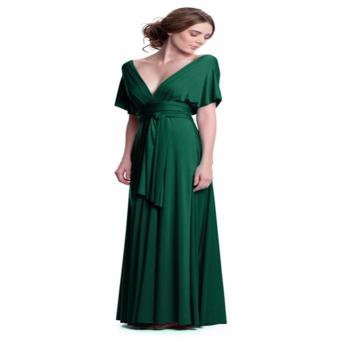 French dolls infinity multiway dress in emerald green (floorlength) Price Philippines