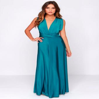 French dolls infinity multiway dress in Teal Green ( floor length) Price Philippines