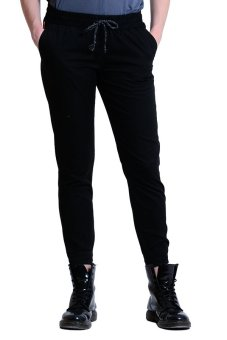 Freshgear Non Denim Cuffed Jogger Pants (Black)