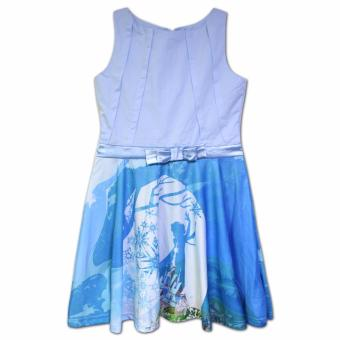 Frozen Elsa and Arendelle Dress (Light Blue)