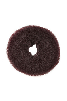 Functional Synthetic Fiber Hair Bun (Brown) - picture 2