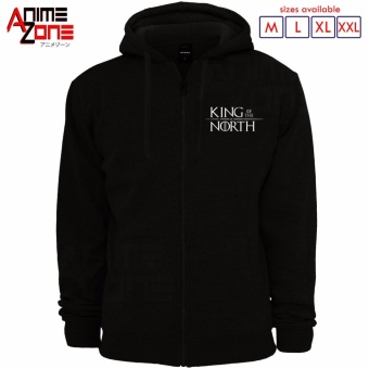 Game of Thrones King of the North Hoodie Jacket (Black) Price Philippines