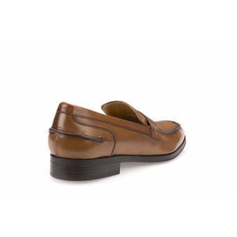 Geox Formal Low Cut Shoes (COGNAC) - 5