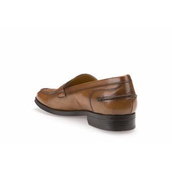 Geox Formal Low Cut Shoes (COGNAC) - 4