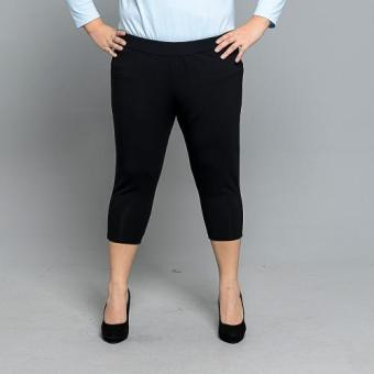 Get Laud Plus 3/4 Leggings Plain (Black)