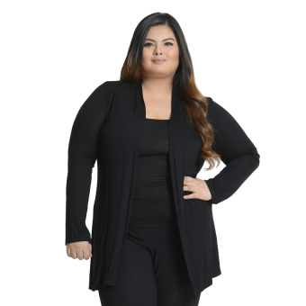 Get Laud Plus Knit Cardigan (Black) Price Philippines
