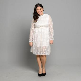 Get Laud Plus PD Lexey Dress (White)