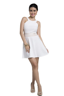 Get Laud! SD Roxanne Dress (White)