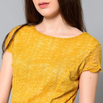Get Laud Sd Samantha Lace Dress (Yellow) - 5