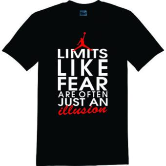 GILDAN BRAND LIMITS LIKE FEAR JORDAN SHIRT (BLACK) Price Philippines