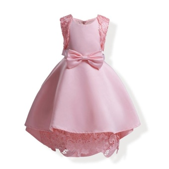 Girl's Europe and the United States Princess Dress Formal Dress - Pink - intl
