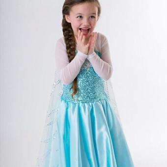 Girls Dress Elsa Princess Queen Dress Party Wedding Dresses Price Philippines