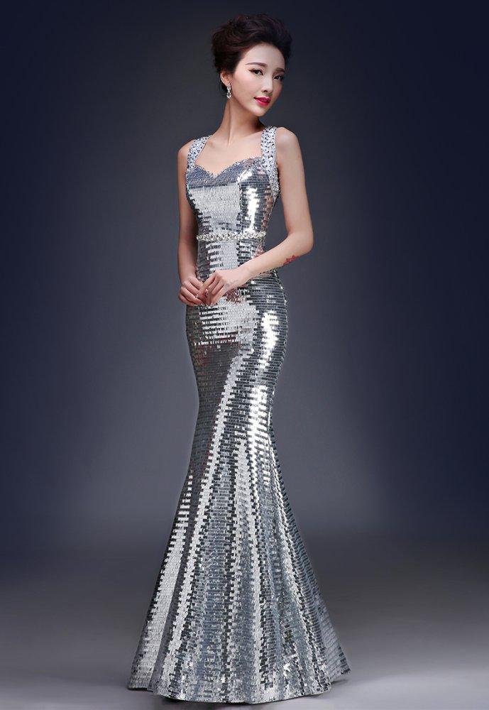 Philippines   Glitter Evening Dress Elegant Long Gown Sexy Mermaid ...