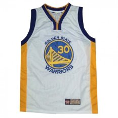 61f6b301 ... Golden State Warrior 30 Curry NBA Basketball Jersey Sando (White) ...