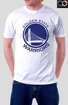 Golden State Warriors T-shirt for Men (White)
