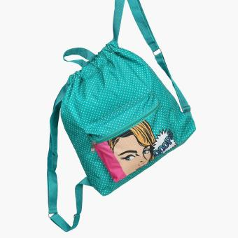 Grab Urika Drawstring Bag (Multicolored)