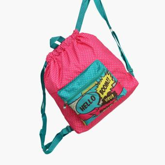 Grab Ursin Drawstring Bag (Multicolored)
