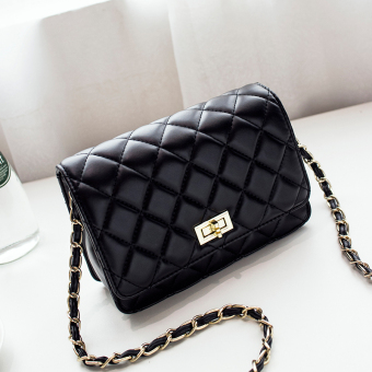 Graceful versitile fashion New style summer Lingge chain bag women's bag