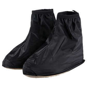Gracefulvara Waterproof Rain Shoe Covers (Black)