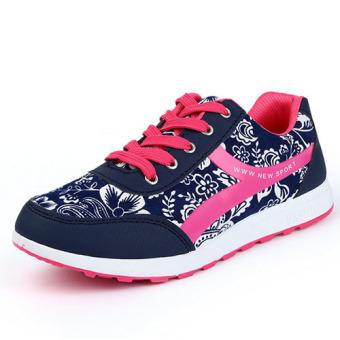 Greatnes D&D JZ-A-6 Women's Sport Casual Shoes (Pink) - 2