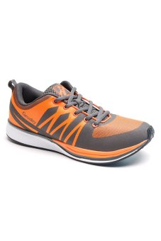 Grosby MR 29-2 Whip Running Shoes (Orange/Gray)