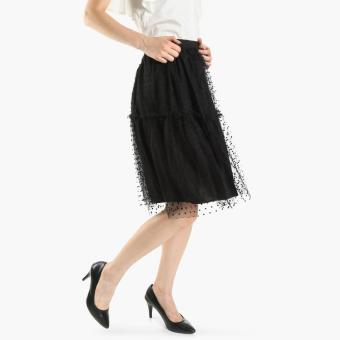 GTW Party Tulle A-Line Skirt (Black)