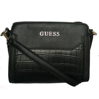 Guess Trylee Cross Body Bag (Black)