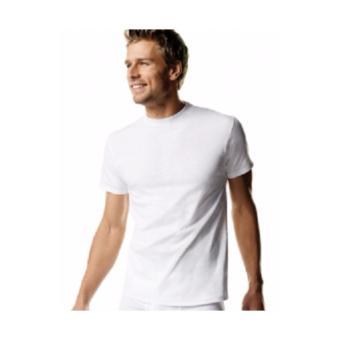 Hanes CLASSICS 3 Pieces Crew Neck T-Shirts (White) - 4