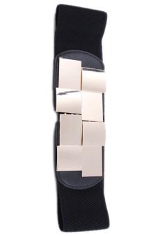 Hang-Qiao Belt Bling Metal Buckle (Black)