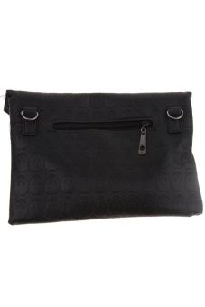 Hang-Qiao Punk Style Skull Clutch (Black)