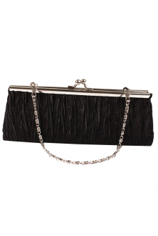 Hang-Qiao Women's Charm Wallet Bag Handbag (Black) - picture 2