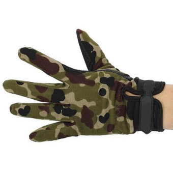 HangQiao Airsoft Gloves Camouflage (Multicolor) - picture 2