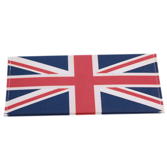 Hanyu British Flag Canvas Fashion Students Male Wallet Multicolor