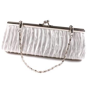 Hanyu Clutch Bag Charm Purse Handbag White - picture 3