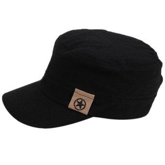 Hanyu Outdoor Hat Men and Women Joker Caps Black