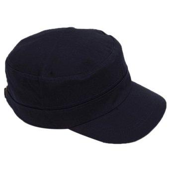 Hanyu Outdoor Hat Men and Women Joker Caps Navy - picture 2