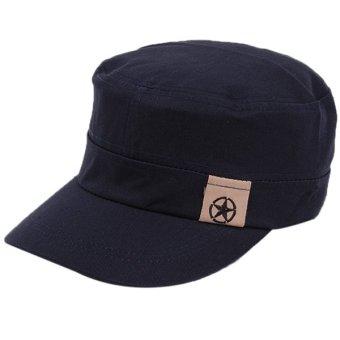 Hanyu Outdoor Hat Men and Women Joker Caps Navy