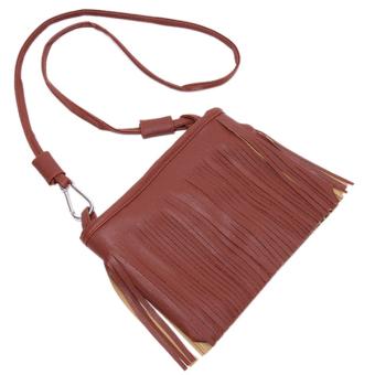 Hanyu Tassel Crossbody Bags Brown - picture 2
