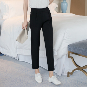Hao Na Korean-style spring casual straight harem pants
