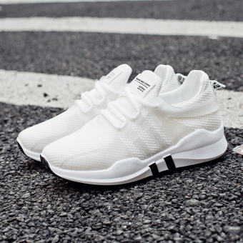 Harajuku casual female New style student shoes sports shoes (White)