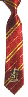 Harry Potter Badge College Tie- Gryffindor