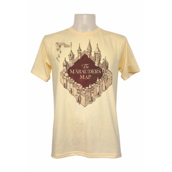 Harry Potter HP Marauders Map Logo Shirt (Oat) Price Philippines