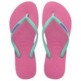 Havaianas Fashion for Women Logo Pop Up Maravilha Flip Flop (Pink)