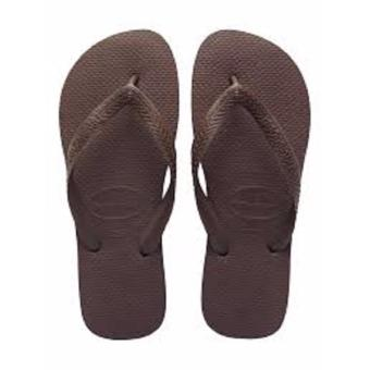 Havaianas Fashion for Women Top Roxo Flip Flop (Brown)