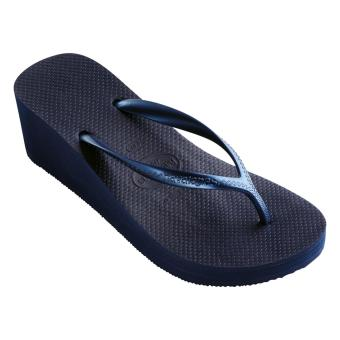Havaianas High Women's Flip Flop Fashion Marinho (Blue)