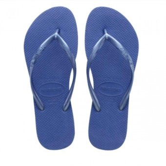 Havaianas Women's Regata Slim Sandal Flip Flop (Light Blue)