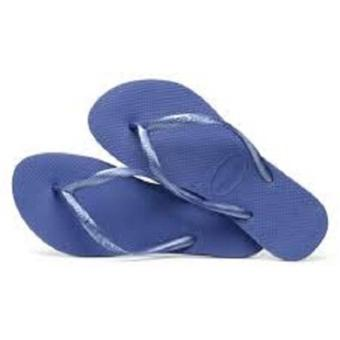 Havaianas Women's Regata Slim Sandal Flip Flop (Light Blue) - 2