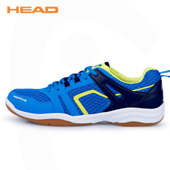 HEAD breathable summer female sports shoes badminton shoes (Blue)