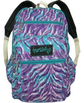 Heartstrings Railey Backpack Printed Nylon